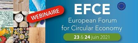 Visioconférence : EFCE - Forum Européen de l'Economie Circulaire