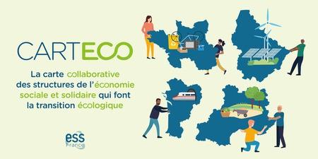 CarteEco : la première plateforme de recensement des acteurs de l'économie sociale et solidaire