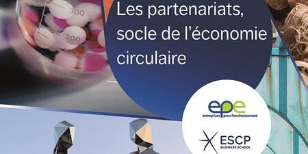 Évènement hybride : lancement de la publication EpE-ESCP sur les partenariats dans l'économie circulaire
