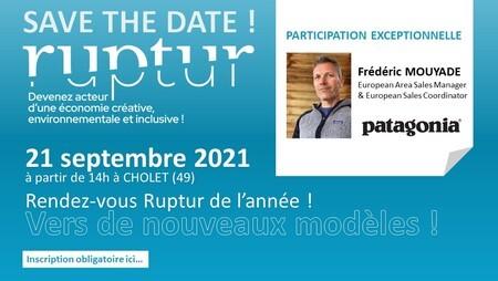 21/09/2021 - Atelier RUPTUR et Intervention de PATAGONIA