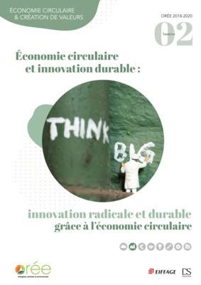 Publication d'un receuil qui met en avant les apports de l'économie circulaire à l'innovation