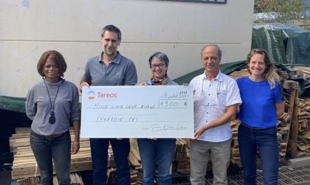 Tereos soutient Synergie Péï avec son challenge sportif.