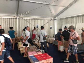 La 1ere brocante aux matériaux à La Réunion a remporté un vif succès