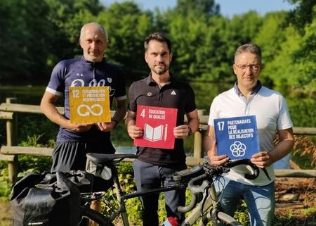 Bike for the Future ! Promotion of SDG and circular economy activities