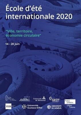 Report - Ecole d'été internationale : Ville, territoire, économie circulaire