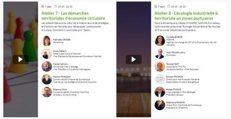 [REPLAY] Assises de l'EC - Atelier 8 - L'écologie industrielle & territoriale en zones portuaires