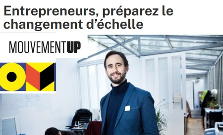 Entrepreneurs de l'#ESS, préparez le changement d'échelle. RDV UP Factory