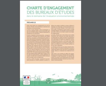 Les bureaux d'études se dotent d'une charte d'engagement en évaluation environnementale