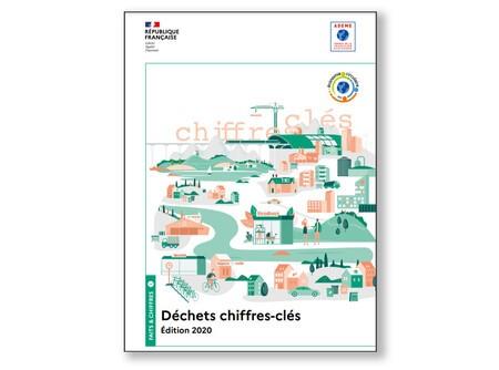 Publication ADEME : Les chiffres clés des déchets en 2020