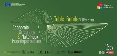 Table ronde Facebook Live : économie circulaire et matériaux écoresponsables