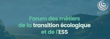 Forum des métiers de la Transition Écologique et de l'Economie Sociale et Solidaire (en ligne)