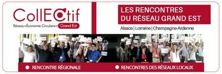 Economie Circulaire : Participez aux prochaines rencontres du Réseau CollECtif Grand Est !