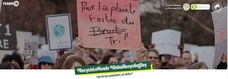 FEDEREC vous invite à la Journée Mondiale du Recyclage