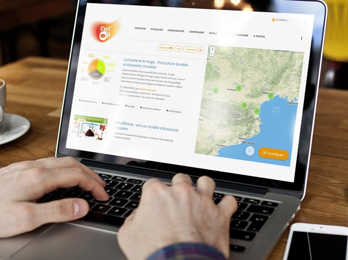 Avec la plateforme Cycl'Op, l'Occitanie rejoint le réseau des plateformes de l'économie circulaire !