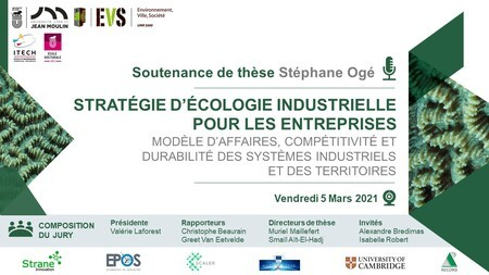 Save the Date 05/03 9am CET - Soutenance thèse Stéphane Ogé