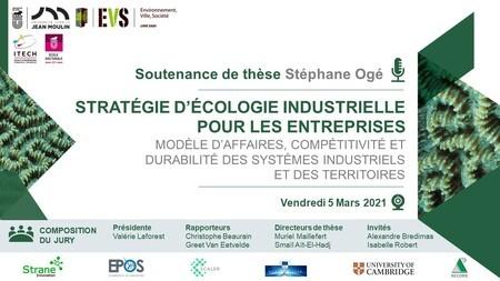 Save the Date 05/03 9am CET - Soutenance thèse Stéphane Ogé