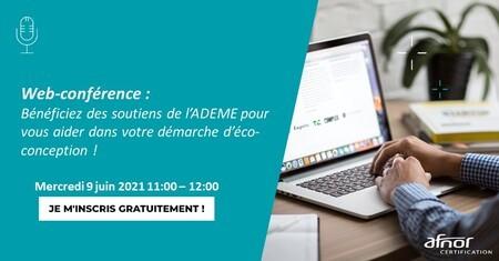 Webconférence : découvrez les soutiens de l'Ademe pour vous aider dans votre démarche d'éco-conception