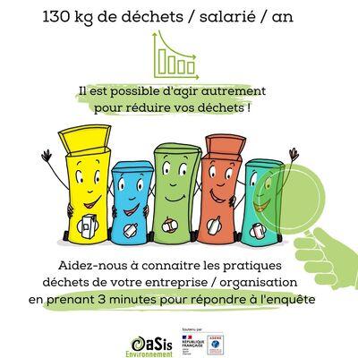 Enquête auprès des salariés des Pays de la Loire sur les pratiques déchets en entreprises
