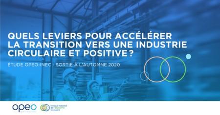 Participez à l'enquête | Etude Industries & Economie circulaire