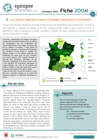 Fiche ZOOM 1: Les réseaux régionaux français d'EIT
