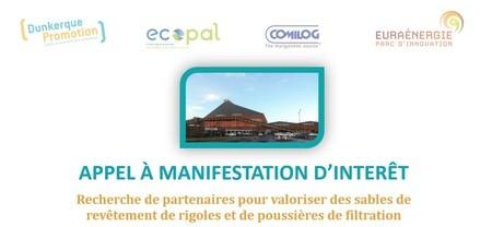 Appel à Manifestation d'Intérêt - Recherche de Partenaires pour valoriser des sables de revêtement de rigoles et des poussières de filtration