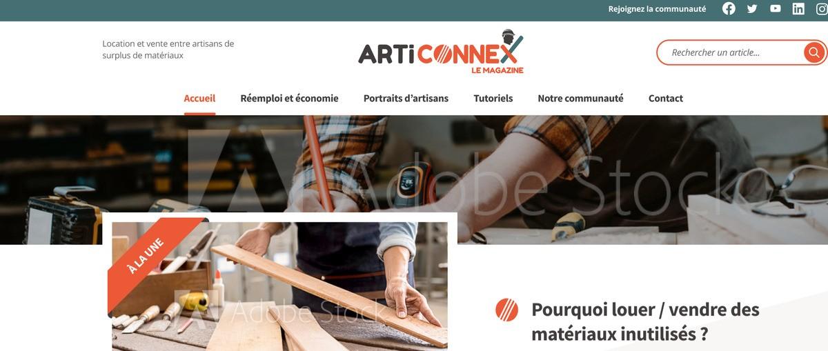 Le Magazine Articonnex : inciter à l'action