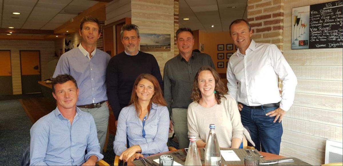 Equipe organisatrice 1ère édition : Club des Entreprises du Pays de Rance (CEPR), CJD Emeraude, Mairie de Pleudihen-sur-Rance, ImmaTerra