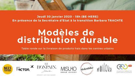 Table ronde sur les modèles de distribution durable de produits frais en centres urbains (Bruxelles)