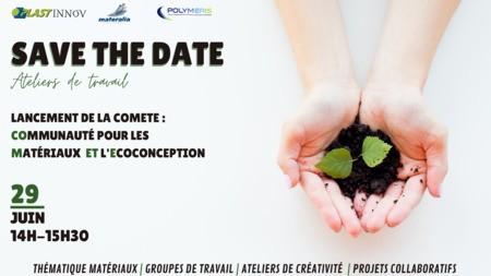 Ateliers de travail en ligne pour le lancement de la COMETE : COmmunauté pour les Matériaux ET l'Ecoconception