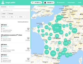 MagicPallet : 1re solution collaborative d'échanges de palettes Europe en ligne