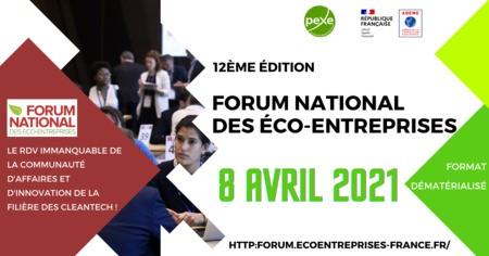12ème édition du Forum national annuel des éco-entreprises
