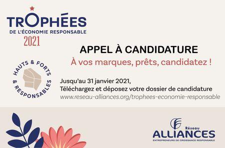 Appel à candidatures :  Trophées de l'économie responsable !