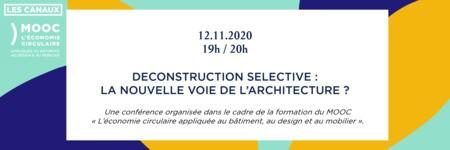 Déconstruction sélective, la nouvelle voie de l'architecture ?
