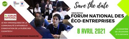 12ème édition du Forum national des éco-entreprises