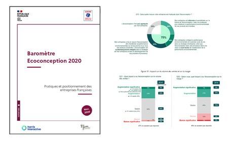 [ADEME]  Baromètre Ecoconception 2020 : Pratiques et positionnements des entreprises françaises