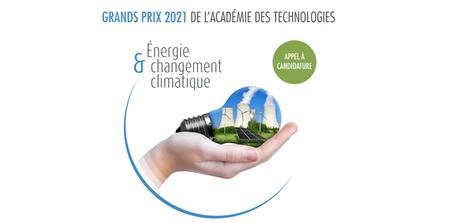 Energie et changement climatique : candidatez aux Grands Prix de l'Académie des technologies