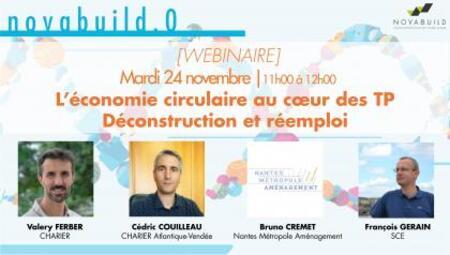 L'économie circulaire au cœur des TP   Retour d'expérience : Déconstruction et réemploi