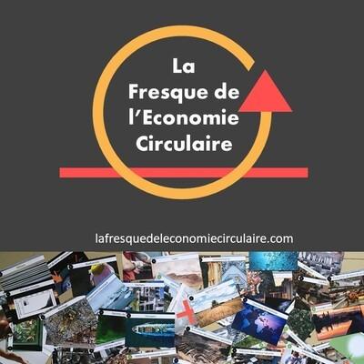 Fresque de l'économie circulaire à l'Académie du Climat (Paris)