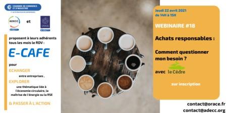 E-CAFE ADECC - Achats responsables : comment questionner mon besoin ?